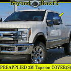 2017 2018 2019 Ford F250 F350 Top HALF CHROME Mirror COVERS For Towing Mirrors