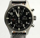 IWC Pilot's Watch Chronograph IW3777-09 iw377709 iw3777 Boxes Papers 43mm