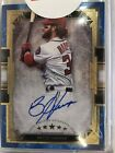 2018 Topps Five Star Bryce Harper Blue Parallel On Card Autograph 15 25 SP