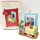 Hallmark Keepsake Ornament~ A Time to Believe With Windup Movement Dated 2002