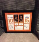 NEW YORK KNICKS NBA WALT FRAZIER-EARL MONROE SIGNED FRAMED PHOTO 16X20 COA