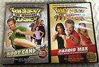 The Biggest Loser The Workout DVD Lot of 2 Boot Camp Cardio Max 6 Week Program
