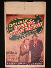 Arsenic and Old Lace 1944 Cary Grant Frank Capra Belgium Movie Poster