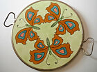 ⚜French⚜ ART Deco Butterfly ceramic serving cheese Tray Way C@@L  FREE ShpN