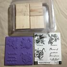 NEW Stampin Up FLOWERS OF GRATITUDE stamp set pansy bouquet