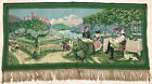 Home Decor Wall Hanging Tapestry, FRENCH SOCIALIZING SCENE 28