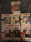FUNKO POP! GAMES STREET FIGHTER LOT OF SEVEN MULTIPLE EXCLUSIVES INCLUDED