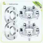 4 20mm 5x112 Hubcentric 12x15 Wheel Spacers For Mercedes Benz Sport Sedan