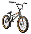 Mongoose Legion L100 Boy's Freestyle BMX Bike, 20-Inch Wheels, Green