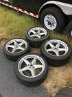 Used Set of Ferrari 360 Modena Wheel with New Tires