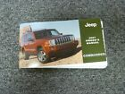 2007 Jeep Commander SUV Owner Manual User Guide Sport Limited Overland 4WD