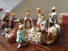 Hummel Goebel 11 Piece Large Nativity Set with Camel 214 TMK 6
