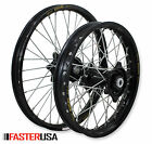 KTM MX WHEELS KTM85SX 12-18 SET EXCEL RIMS FASTER USA HUBS NEW 17/14 SMALL WHEEL