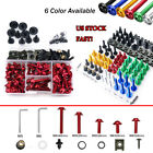 CNC Universal Motorcycle Fairing Bolt Kit Accessories For Ducati 848 2008-2019