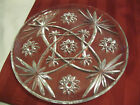 USED Vintage Anchor Hocking EAPC Star of David Platter 10