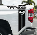Toyota Trd Tundra Superman Off Road 4x4 Racing Tacoma Vinyl Sticker Decal Pair J