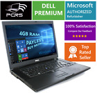 DELL Latitiude 154 HD Screen Laptop Intel 24GHz 4GB 1TB DVD+RW Windows 10