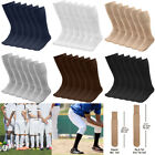 6 18 Pairs Mens Athletic Sports Tube Socks Over the Calf 25 or 31 Big  Tall