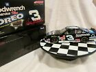 DALE EARNHARDT 124 ACTION DIECAST 3 OREO 2001 MONTE CARLO CLEAR WINDOW BANK