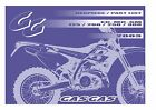 Gas Gas Parts Manual Book Chassis & Engine 2003 EC 125, EC 200, EC 250 & EC 300