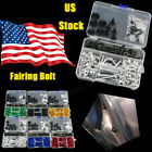 Full Set Motorcycle Fairing Bolt Kit CNC Clips Screws For BMW F650 GS 2003-2007