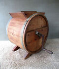 Antique Butter Churn, New Style, RICHMOND CEDAR WORKS Wood Vintage, Lid, Crank