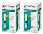 100 Accu Chek Active Diabetic Test Strips (2 BOXES of 50 strips) US Seller