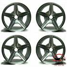 SET OF 4 MERCEDES SL CLASS 2009 2012 19 FACTORY OEM STAGGERED WHEELS RIMS