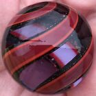 Hot House Glass banded swirl marble 169 43mm 987