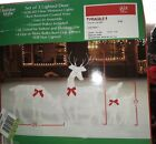 Holiday Style 3PC Yard Decor Lighted Buck Doe Deer Fawn Christmas Winter Outdoor
