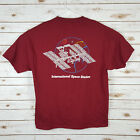 BOEING International Space Station ISS Mens T Shirt XL RARE FREE SHIPPING