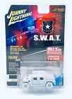 Johnny Lightning 1 64 Police SWAT Humvee White Lightning Chase Car JLCP7159