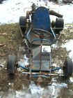 VINTAGE RACING GO KART WITH MCCULLOCH ENGINE