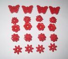 New Lego Friends Red Flowers Ladybug Butterfly 20 Pieces Total Insects Rose