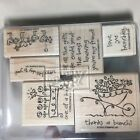 NEW Stampin Up LOVE YA BUNCHES stamp set BIRD WAGON LOVE FLOWERS