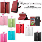 DK For Samsung Sony Alcatel Strap Luxury Wallet Card Flip Leather Case Cover