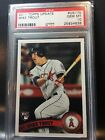 2011 Topps Update Mike Trout PSA 10 Gem Missing Logo 1 1 Rare Rookie Card RC