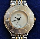 Must de Cartier Two-Tone Swiss Made Stainless Steel Ladies Watch 32mm