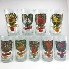 Vintage Indiana Glass 12 days of Christmas REPLACEMENT GLASS USA Tumbler 12 oz