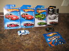 Hot Wheels Lot of 6 1992 Ford Mustang 92 Variation Mystery 50 Years of Mustang