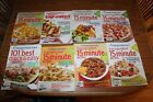 8 Weight Watchers Magazines Books Cookbook Five Ingredients Minutes Recipes
