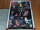 Led Zeppelin Giant Vintage Original Collage Poster Jimmy Page Robert Plant