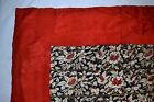 c'19th Chinese Silk Embroidery 6 Sleeve Bands Textile Panel Birds Floral Qing #1
