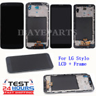 For LG Stylo 2 3 4 3 Plus LCD Complete Replacement Digitizer Touch Screen+Frame