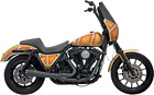Bassani 1FXR2B Road Rage 2 Into 1 Short Megaphone Exhaust System Black