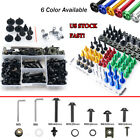 For Suzuki RF600R 1993-1998 Sportbike Complete Fairing Bolts Kit Fastener Clips