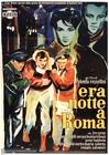 ESCAPE BY NIGHT ERA NOTTE A ROMA Italian 1p 60 Roberto Rossellini Ercole Brin
