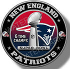 New England Patriots Super Bowl Championship Vinyl Sticker NFL Decal 7 sizes