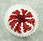 Hulet Glass White Chocolate and Cherry Handmade Confection 18 133WH