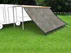 Shatex RV Awning Shade with 90 Privacy Screen Free Kit 8 x 14 Coffee